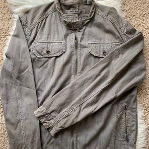 Guess Gray Denim Jacket